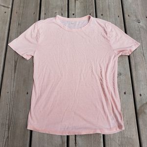 Tucker and Tate pink short sleeve stretchy tshirt
